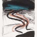 Annette Gundermann: zur Winterreise, Lithografie