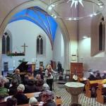 19 - Konzert in der Pfarrkirche Pankow am 2.12.2017 mit dem »Ensemble Olivinn«