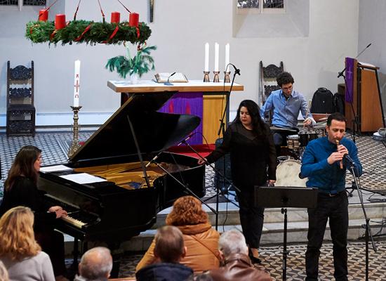 21 - Konzert in der Pfarrkirche Pankow am 2.12.2017 mit dem »Ensemble Olivinn«
