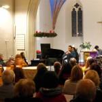 22 - Konzert in der Pfarrkirche Pankow am 2.12.2017 mit dem »Ensemble Olivinn«
