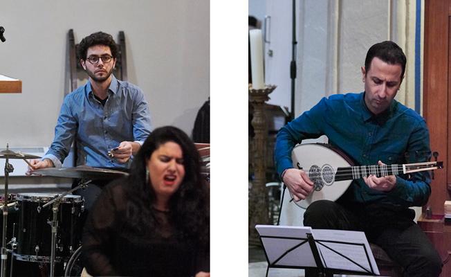 25  - Konzert in der Pfarrkirche Pankow am 2.12.2017 mit dem »Ensemble Olivinn«