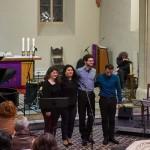 28 - Konzert in der Pfarrkirche Pankow am 2.12.2017 mit dem »Ensemble Olivinn«