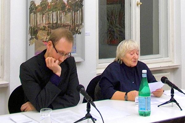 40 - »Ich bin zu Ende mit meinen Träumen« 5.1.2018, Referent: Marco Hillemann, Lesung: Carmen Maja Antoni