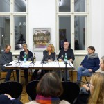 47 - Bin gewohnt das Irregehen - Künstlergespräch, Finissage 19.01.2018, Moderation: Dr. Simone Tippach-Schneider