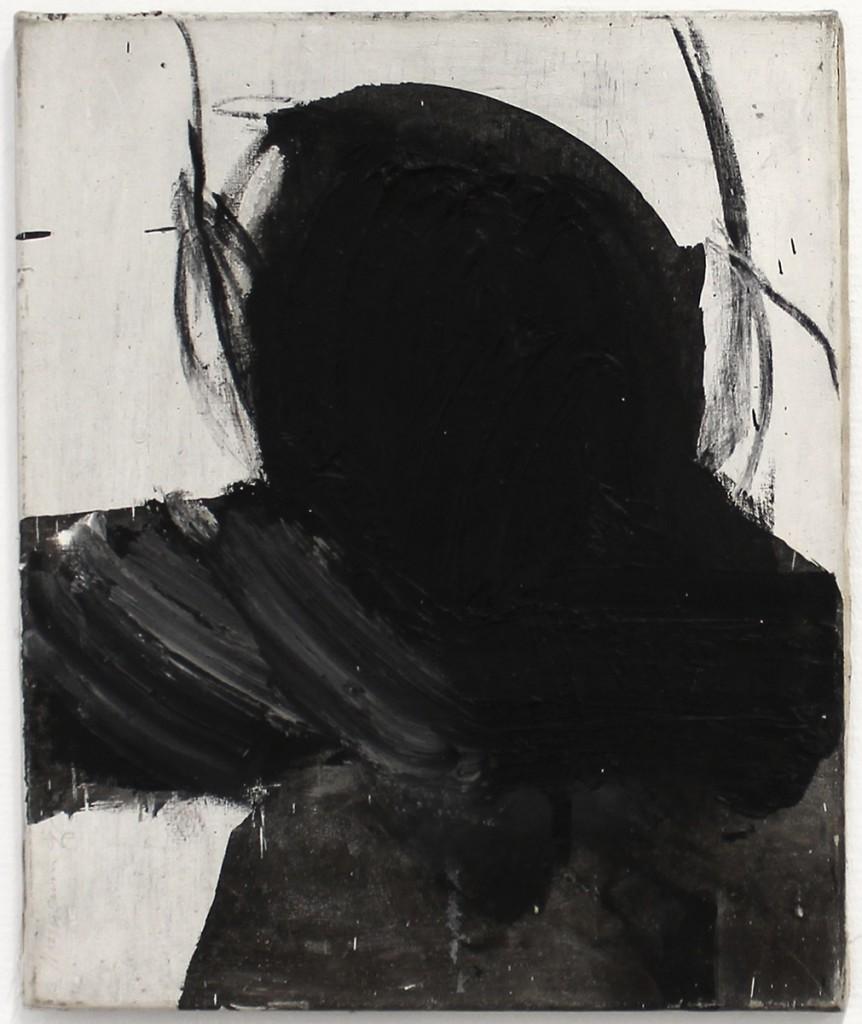 "Achim Niemann ""Flatterfigur Hans Rudi, Urnesch"" 90 x 80 cm, Öl u. Pigmente auf Leinwand, 1997"